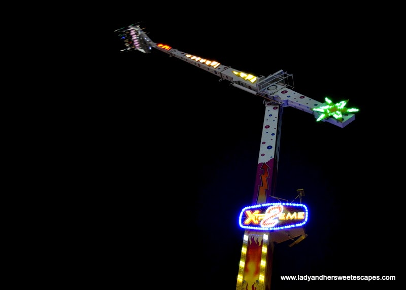 extreme ride at the Global Village