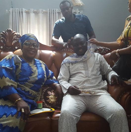 Owo Mi Yoruba Movie: Nollywood Stars In Abeokuta For Mr