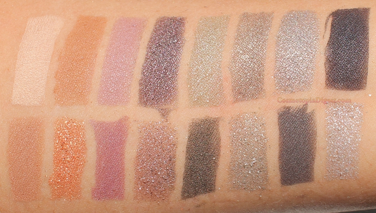 Lancome Auda[City] in London Eyeshadow Palette Swatches