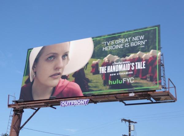 Handmaids Tale 2017 Emmy billboard