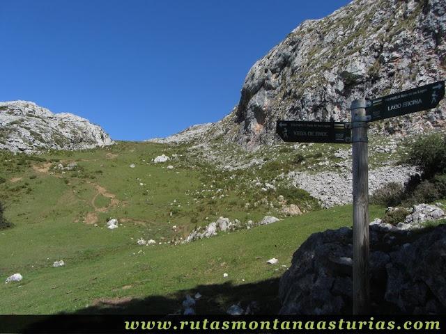 Ruta Lagos de Covadonga PR PNPE-2: Desde el Bricial, desvío al Mosquital