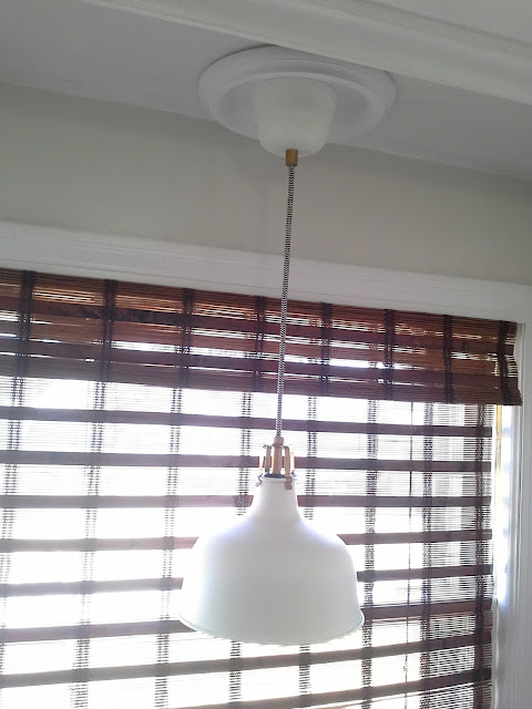 ikea ranarp pendant light