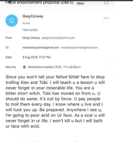 Ceec stop your fans from trolling with Tobi and Alex - Greg Conway