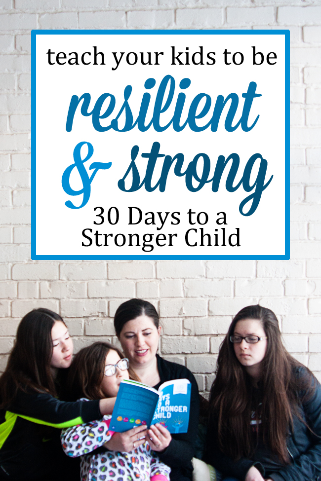 We all want our children to be strong enough to face their daily challenges, and this book will help parents have the right conversations with their kids. #overstuffedlife