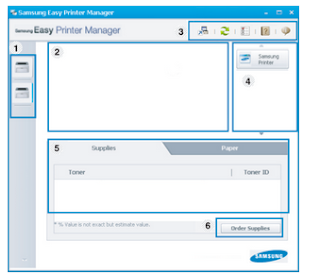 Samsung Easy Printer Manager - Windows, Samsung Easy Printer Manager Mac
