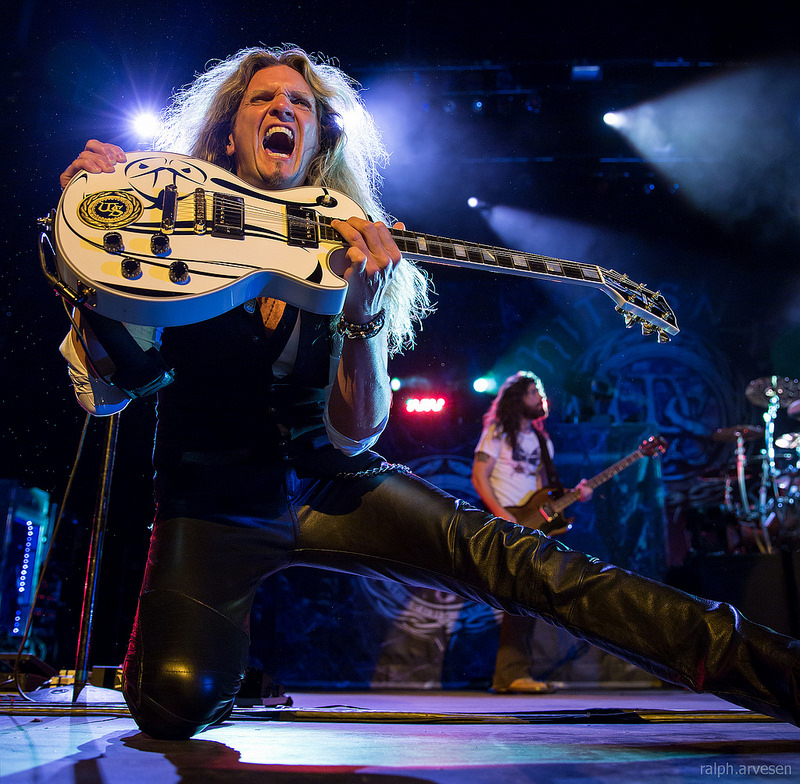 Whitesnake performing in San Antonio, Texas - Texas Review
