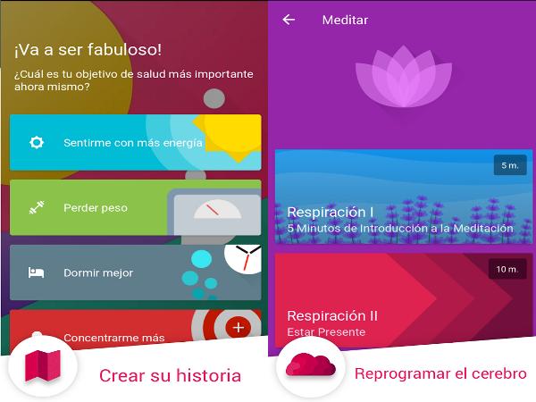 App Fabulous Motívate para la depresión