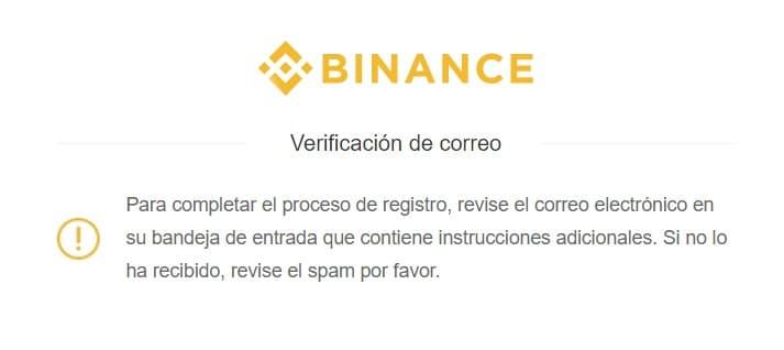registro en binance validar correo y comprar monedas bitshares