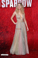 Jennifer Lawrence in a golde glittering gown at Red Sparrow Premiere in London ~  Exclusive Galleries 003.jpg