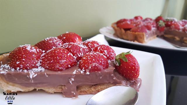 strawberries-pie