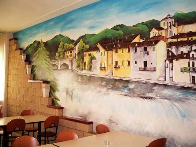 Fittipaldi domenico dipingere sui i muri tempo e passione - Muri di casa colorati ...