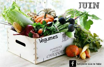 Légumes de saison à déguster au mois de juin