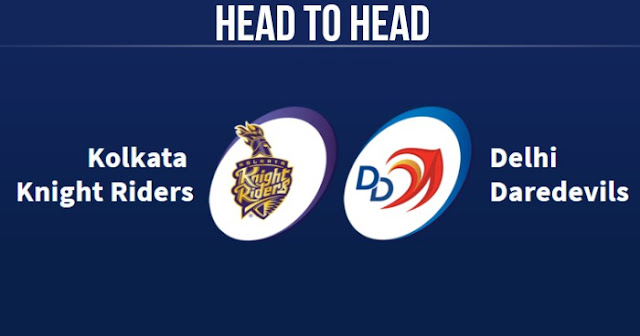 KKR vs DD Head to Head: DD vs KKR Head to Head IPL Records