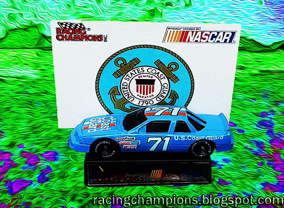 NASCAR Racing Champions We Support Our Troops 1991 Daytona 1:64 Die Cast Set