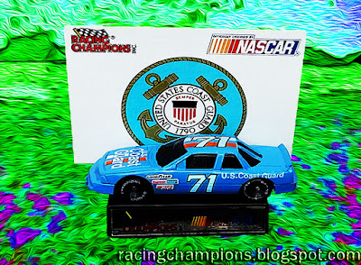 Dave Marcis #71 1991 Daytona 500 Support Our Troops Cars Military Racing Champions 1/64 NASCAR diecast blog