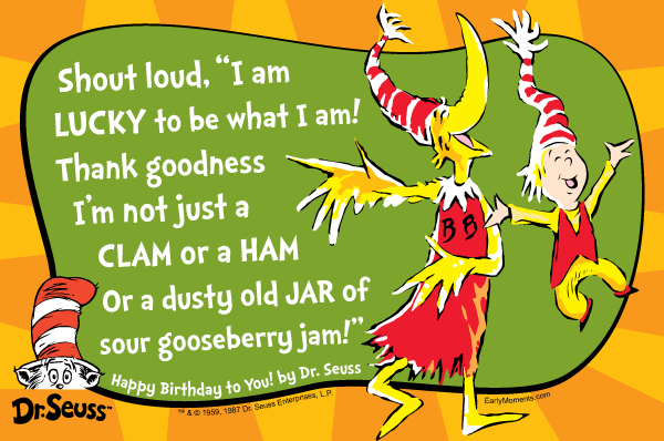 Happy 110th Birthday Dr. Seuss