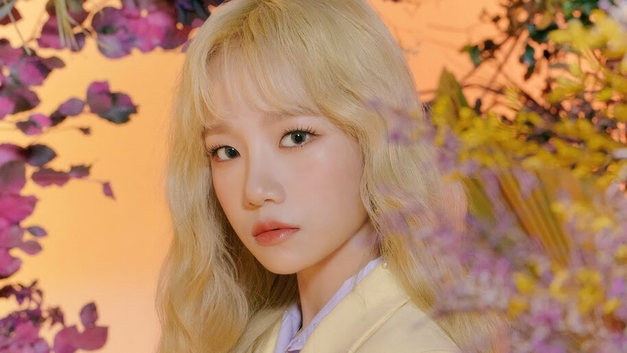 Jo Yuri, Beautiful, Blonde, IZ*ONE, Bloom*Iz, 4K, #6.719