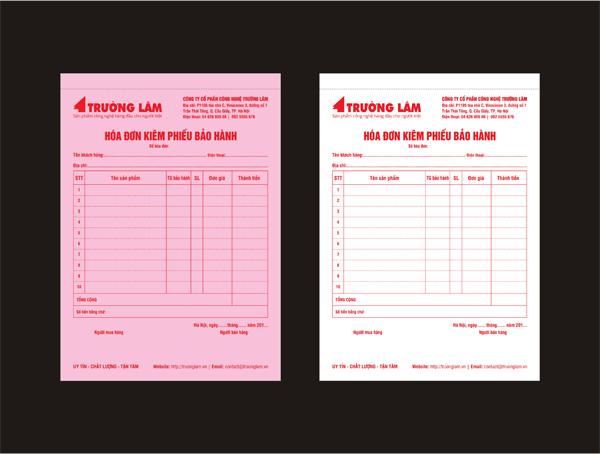 VnDesigners | In hóa đơn Cacbon - Hóa đơn GTGT - Hóa đơn VAT tại Hà Nội
