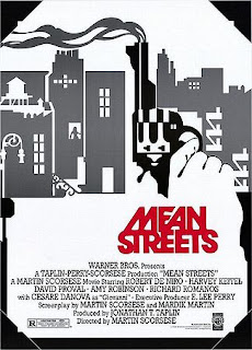 The original movie poster from Martin Scorsese's Mean Streets