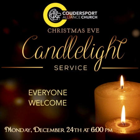 12-24 Candlelight Service, Coudersport