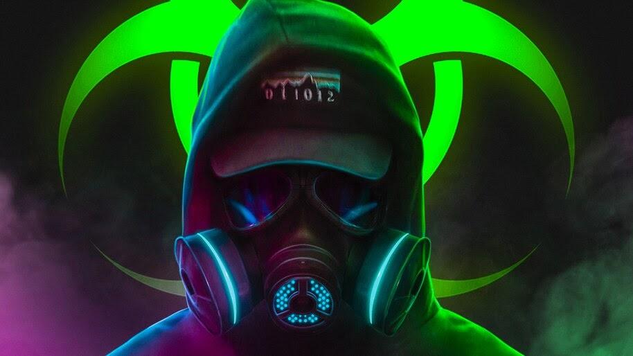 Gas Mask Toxic Digital Art 4k Wallpaper 41955