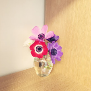 アネモネ 花 リューズガラス 花瓶