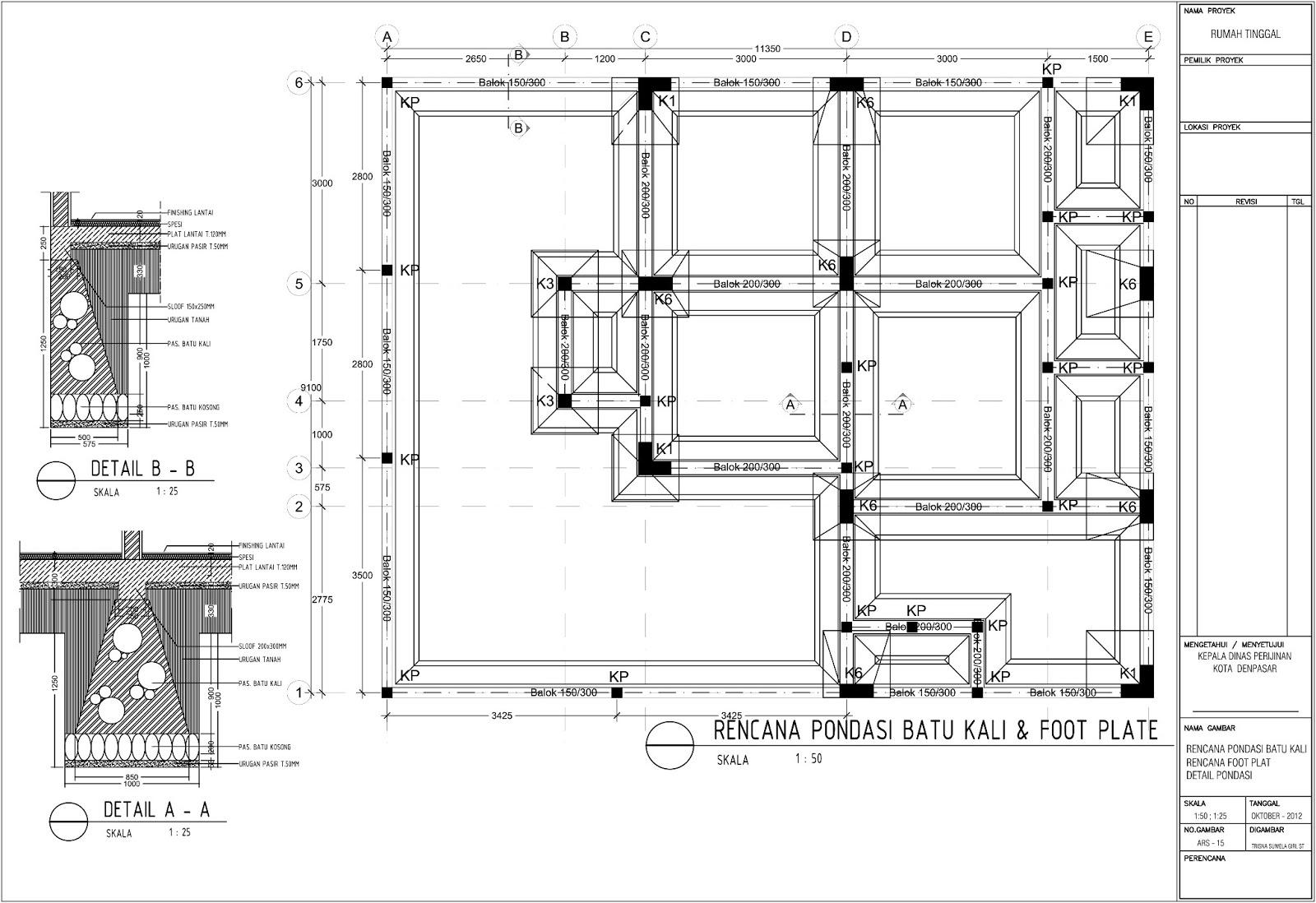 Image Result For Gambar Konstruksi Rumah Type