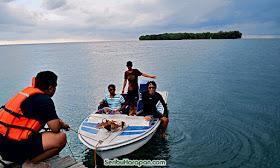 dermaga perahu pulau bira besar