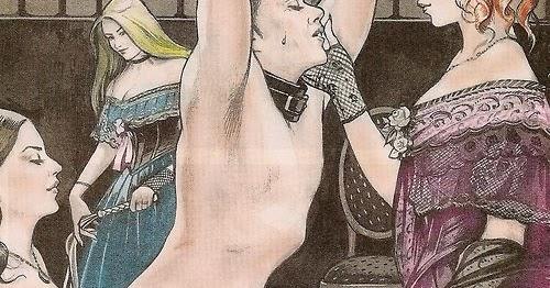 Forced Feminization Illustration Art  Victorian Style Feminization-1195