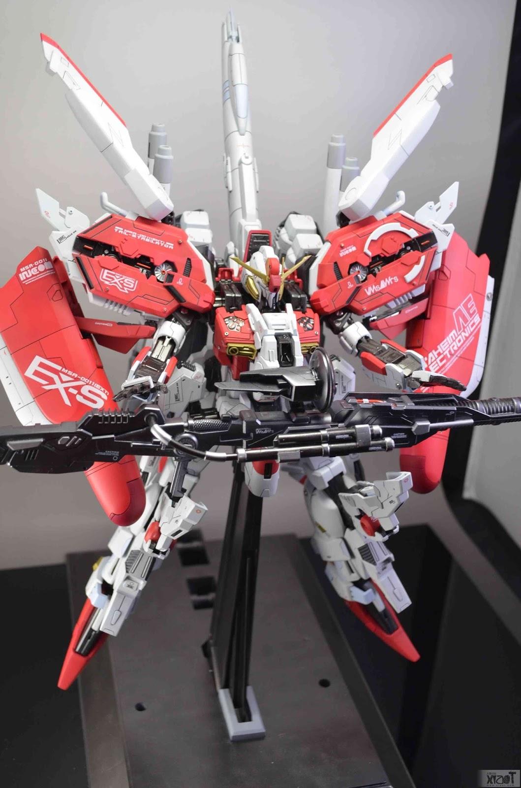 GUNDAM GUY: MG 1/100 MSA-0011[Ext] EX-S Gundam