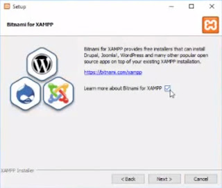 instal xampp to windows 10-sukses