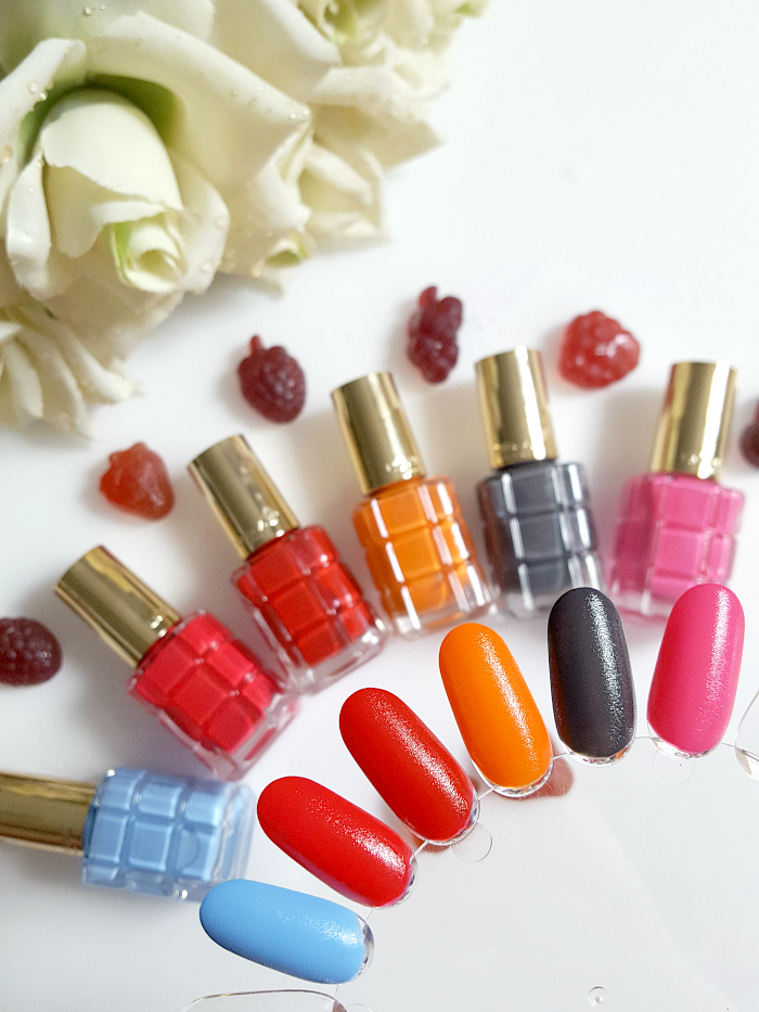 L´Oréal Paris - Color Riche Le Vernis L´Huile  Nagellacke - Neue Sommer Farben Swatches