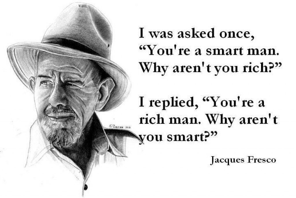 Jacque Fresco's full interview with Larry King, 1974