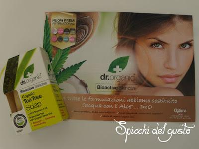 Saponetta naturale al Tea Tree Dr Organic