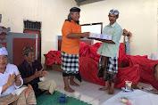 'Come Back' Wiratha Menuju DPD RI  Didukung Krama Adat Sepang