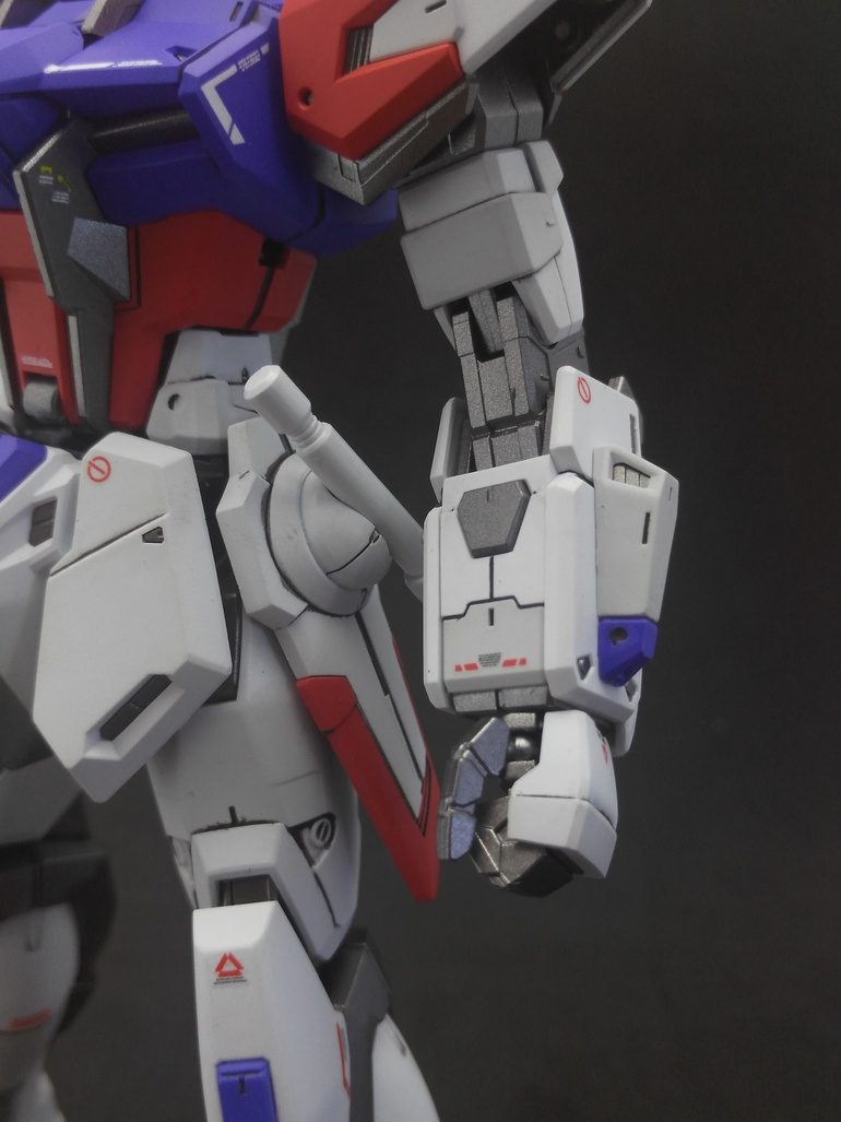 Painted Build: MG 1/100 Build Strike Gundam Full Package