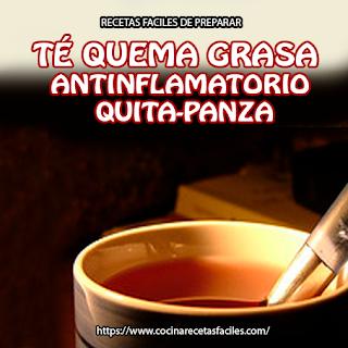 Té quema grasa antinflamatorio quita panza✅Las propiedades de la canela y del laurel funcionan bien sobre el sistema digestivo para adelgazar y quemar la grasa en poco tiempo.