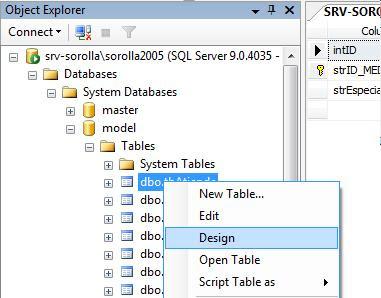 Añadir claves a una tabla de SQL Server