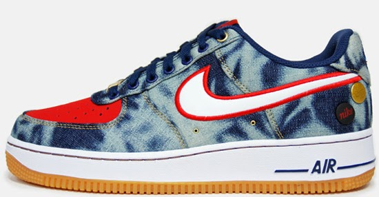 huge discount 82fdf f736e Nike Air Force 1 Low '07 Denim