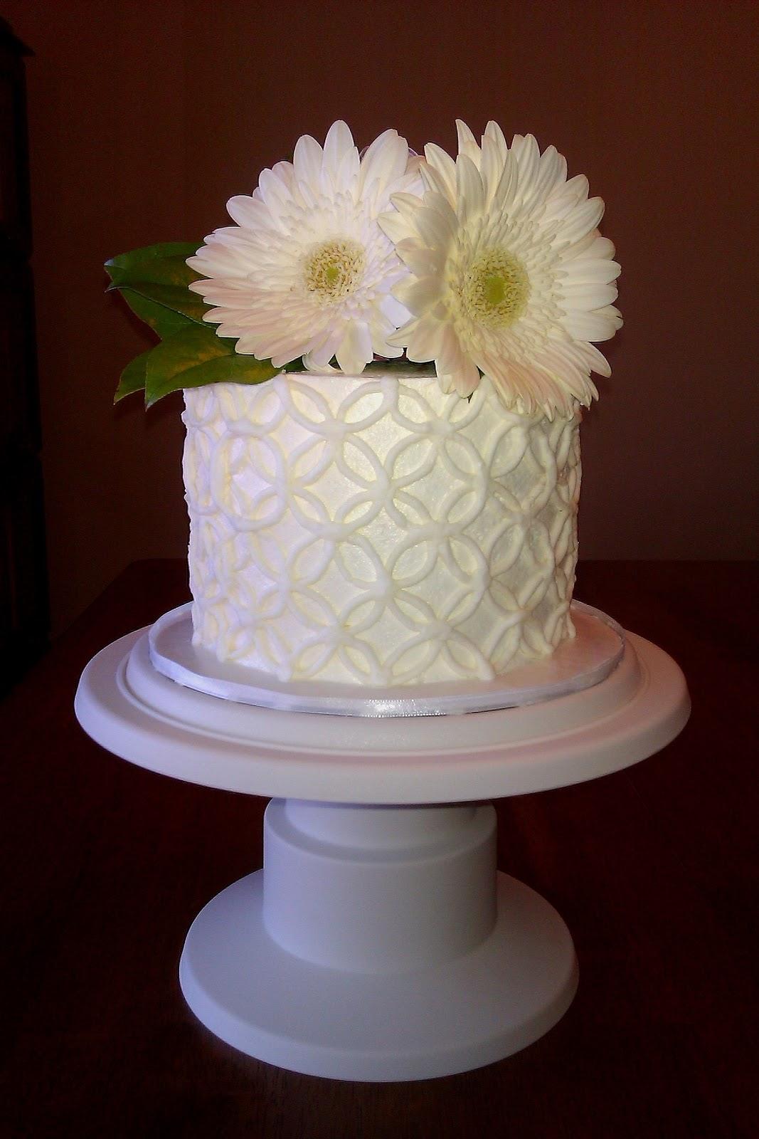 Custom Cakes By Stef Diamond Pattern Cake