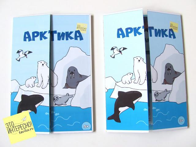 тематическая папка  Арктика и Северный полюс. Файлы для распечатки