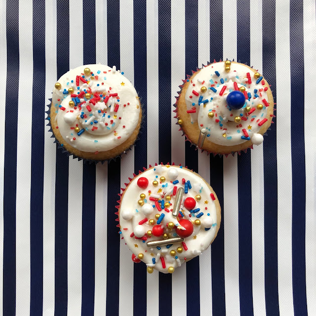 Fourth of July- Firecracker Cupcakes