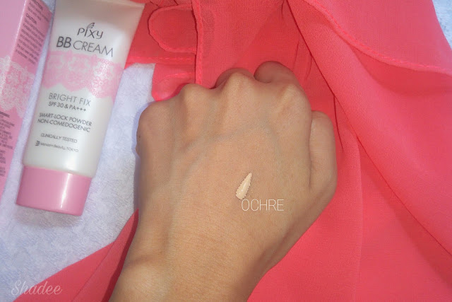 Shade ochre Pixy bb cream review
