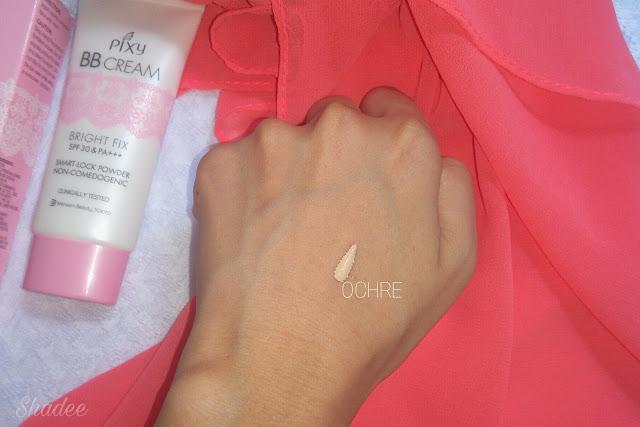Shade ochre Pixy bb cream review