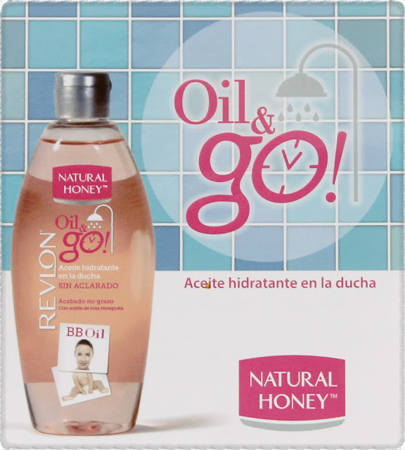 Oil & go aceite bajo la ducha de Natural Honey