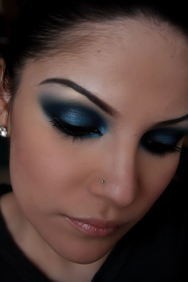 Smokey Eye Makeup: Make-up Artist Me!: Midnight Blue Smokey Eye