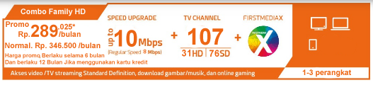Paket Combo Family HD WIFI Plus - First Media Promo Juli 2018 Global Offer