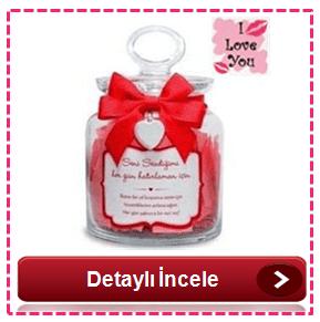 Sevgiliye romantik hediyeler