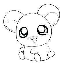 Adorable Hamster Coloring Pages For Print