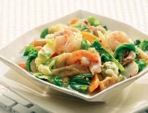 Resep acar kuah seafood